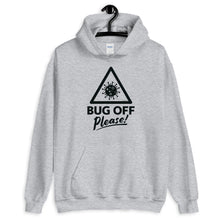 Load image into Gallery viewer, Unisex Heavy Blend Hoodie - BOP Style 1K - Gray Area - Bug Off Please!