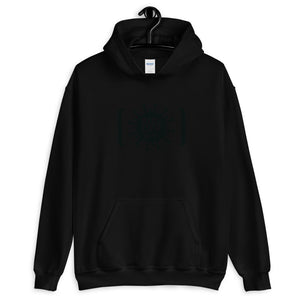 Unisex Heavy Blend Hoodie - BOP Style 2A-Black - Tee Fighter - Black & White - SE - Bug Off Please!