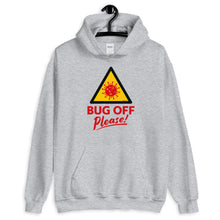 Load image into Gallery viewer, Unisex Heavy Blend Hoodie - BOP Style 1E - Bug Off Please!