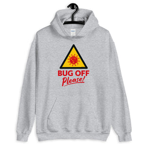 Unisex Heavy Blend Hoodie - BOP Style 1E - Bug Off Please!