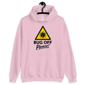 Unisex Heavy Blend Hoodie - BOP Style 1A - Bug Off Please!
