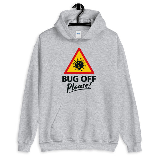 Unisex Heavy Blend Hoodie - BOP Style 1D - Bug Off Please!