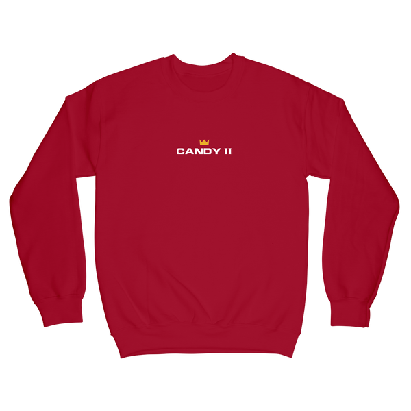 Candy Crewneck - Red