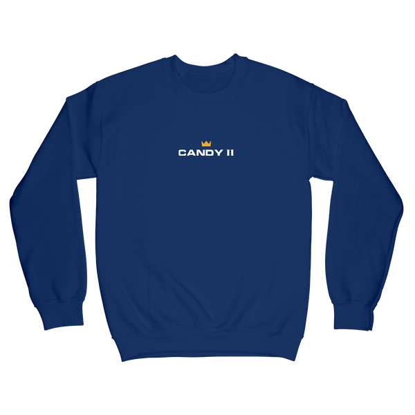 Candy Crewneck - Royal