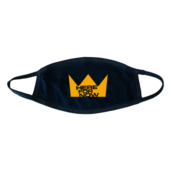 Gold Crown Face Cover