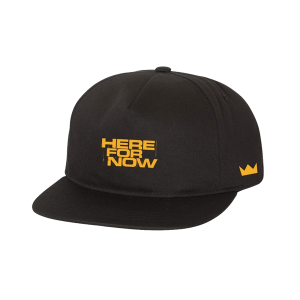 HFN Black Hat (gold thread)