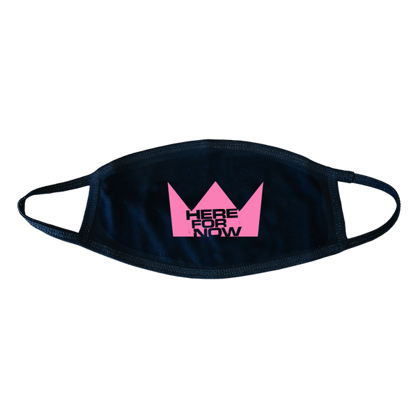 Pink Crown Face Cover