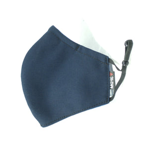 Blue Reusable Face Mask Profile view