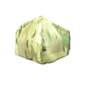 Reusable MultiCam Face Mask
