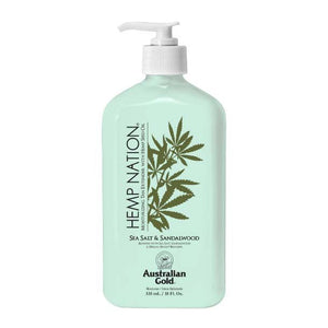Hemp Nation Lotion - Sea Salt & Sandalwood