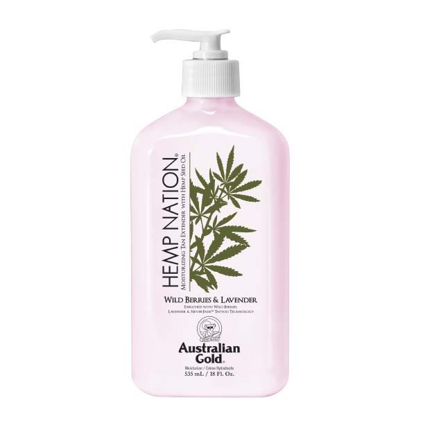 Hemp Nation Lotion - Wild Berries & lavender