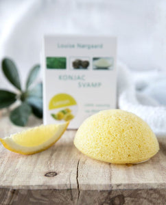 lemon konjac svamp