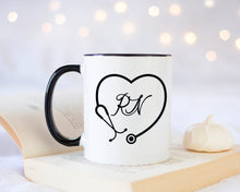 Load image into Gallery viewer, Registered Nurse Mug, Cute Funny Mug, Custom Mug with Name, Mug gift for RN Nurse, Custom Drinkware, Custom Coffe Mug