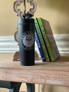 lazy Llama Coffee Co. Plastic Travel Mug