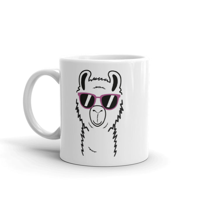 Personalized Lazy Llama Coffee Mug
