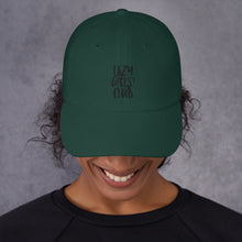 "Load image into Gallery viewer, Dad hat ""Lazy Girls' Club"""