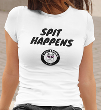 "Load image into Gallery viewer, Women's ""Spit Happens"" Tee"