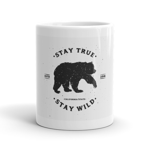 Coffee Mug / Stay true, stay wild - Cal31.com