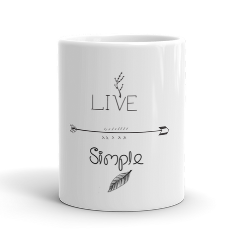 Coffee Mug / Live Life Simple - Cal31.com