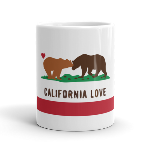 Coffee Mug / California Love Bears (State Flag) - Cal31.com