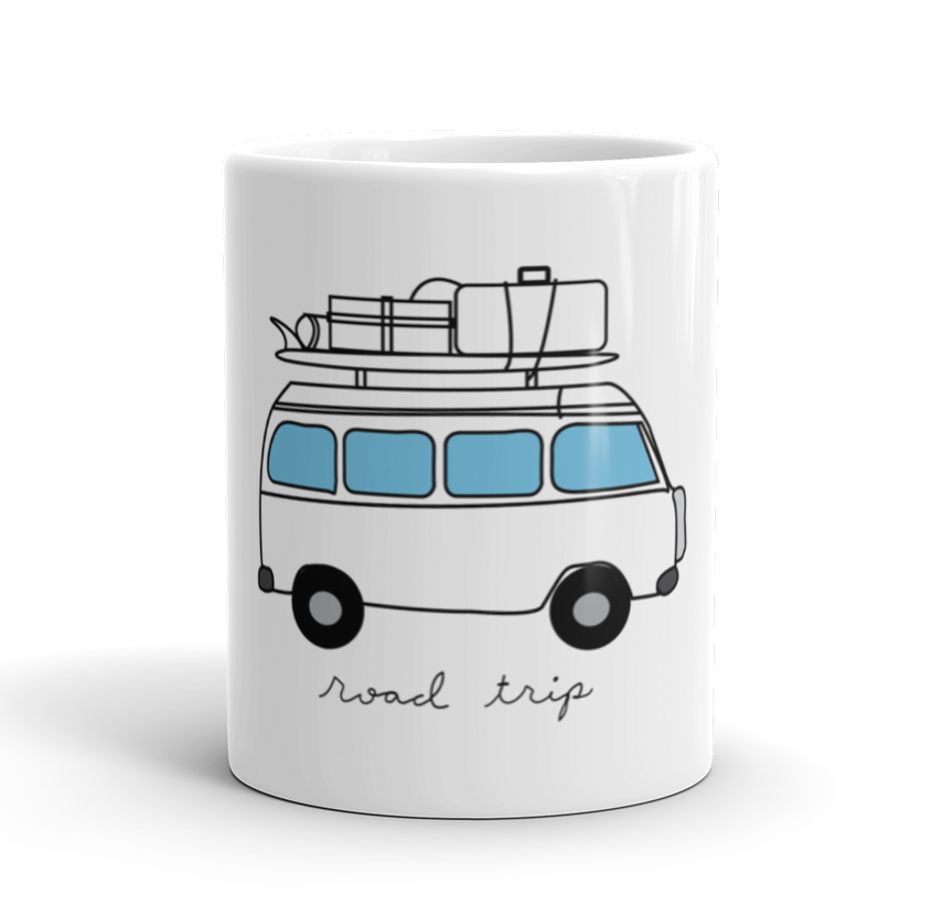 Coffee Mug / California Road Trip - Cal31.com