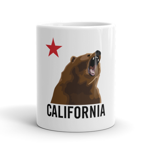 Coffee Mug / Don't mess with the California Bear - Cal31.com