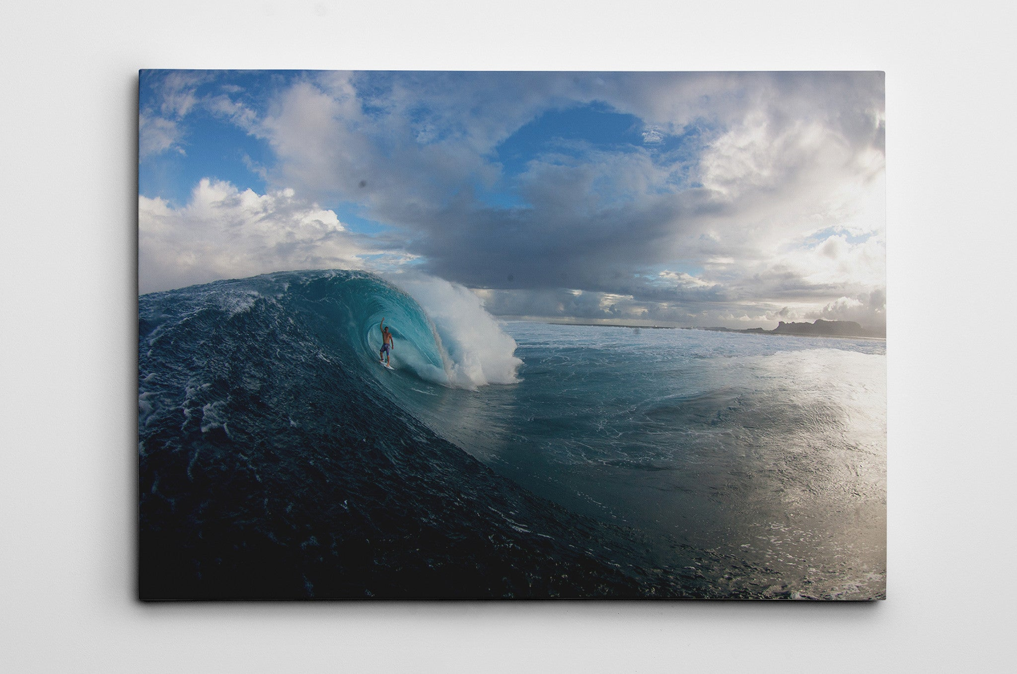 Swell and Sky Canvas Print Dave Nelson Signature Series - Cal31.com