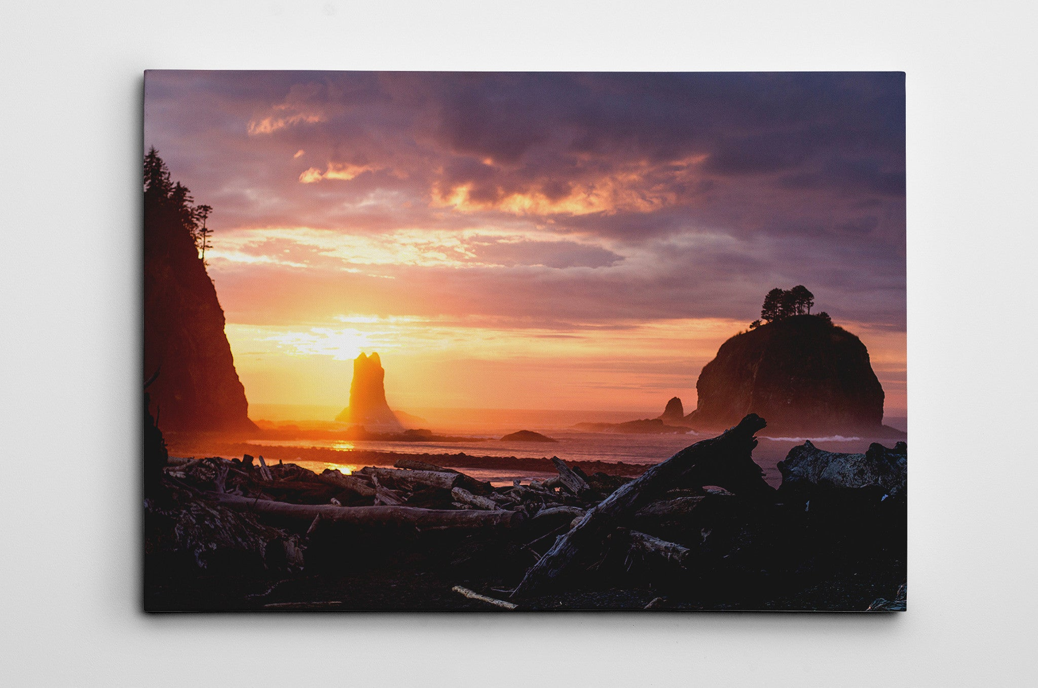 Northern California Sunrise Dave Nelson Signature Series Canvas Print - Cal31.com