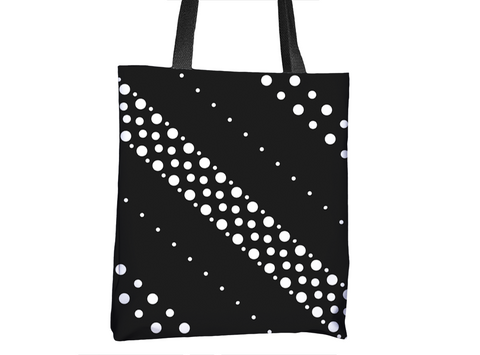 Polka Dot Fun Pattern Tote Bag - Cal31.com