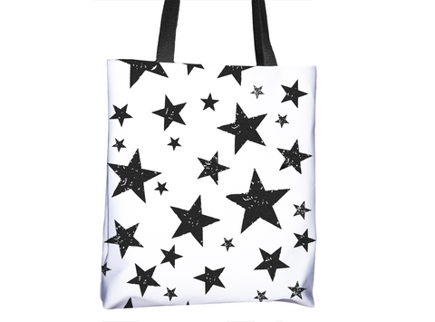 Be A Star Pattern Tote Bag - Cal31.com