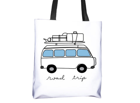 VW Van Road Trip Tote Bag - Cal31.com