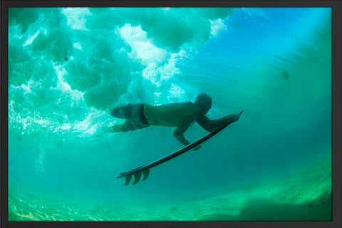 Duck Dive Under Poster Print Dave Nelson Signature Series - Cal31.com