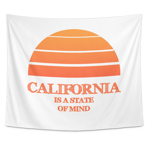Wall Tapestry / California Republic / California State of Mind - Cal31.com