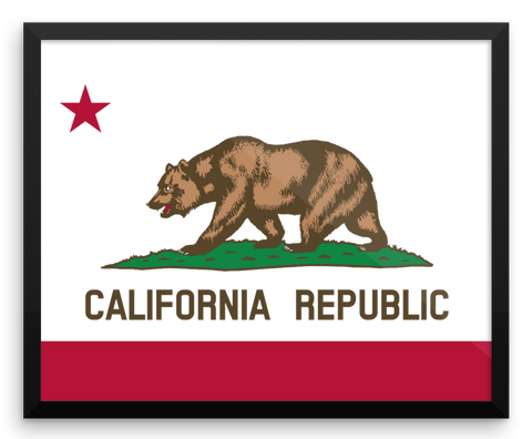 Wall Art / California State Flag - Cal31.com