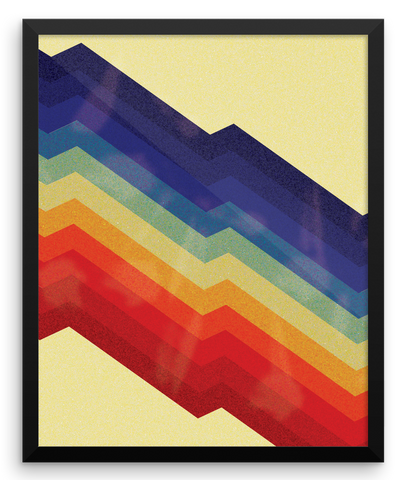 Wall Art / Rainbow Pattern - Cal31.com