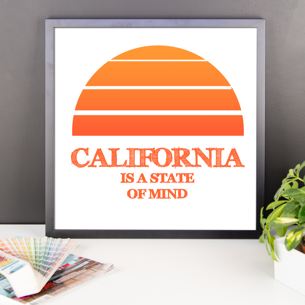 Wall Art / California State of Mind - Cal31.com