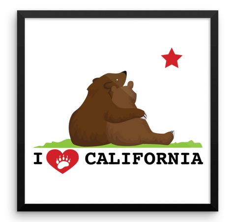 Wall Art / California Love Bears - Cal31.com