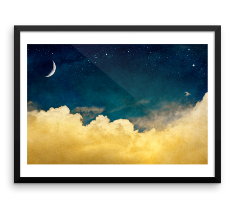 Wall Art / The moon, the stars and the clouds - Cal31.com