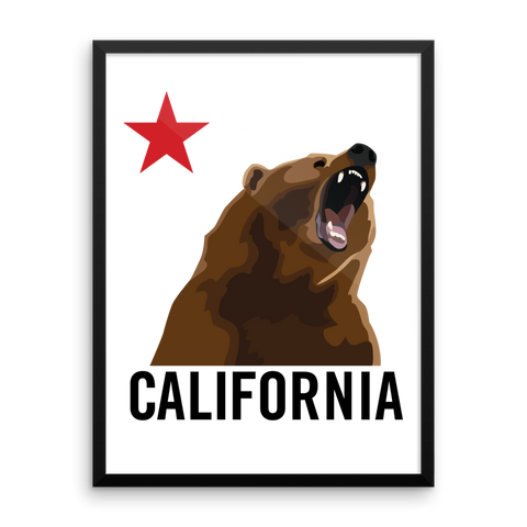 Wall Art / Don't mess with the California Bear - Cal31.com