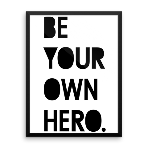 Wall Art / Be Your Own Hero - Cal31.com