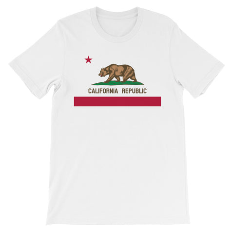 California Bear T-Shirt (State Flag)