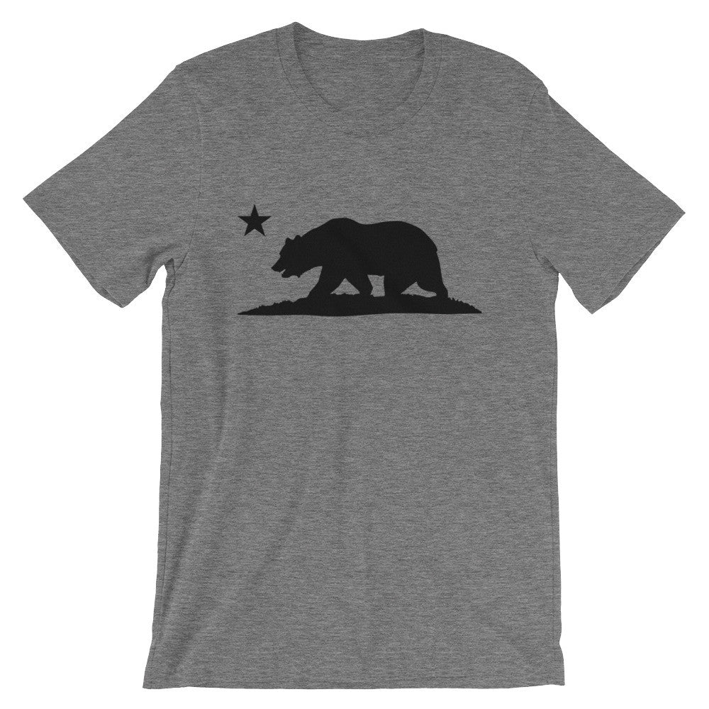 California Bear T-Shirt (White on Black) - Cal31.com