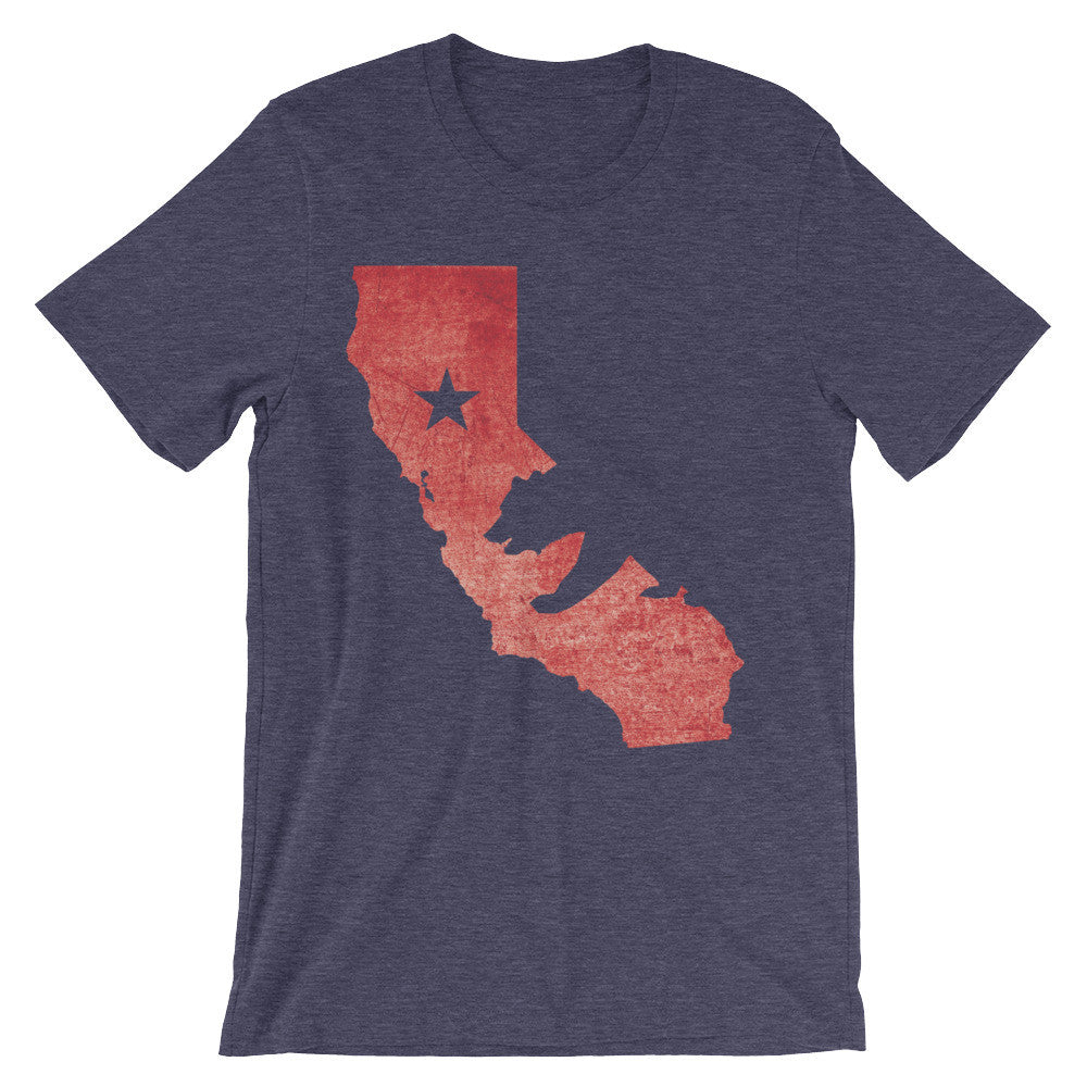 California State Map T-Shirt