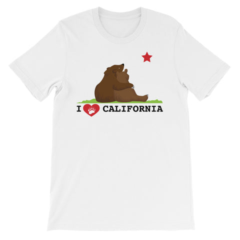 California Love Bears Stargazing T-Shirt