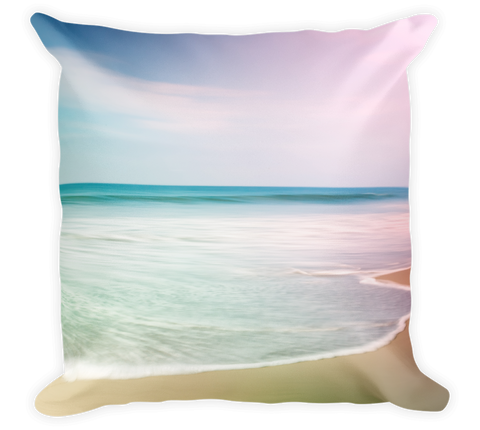 Decorative Throw Pillow / Pacific Ocean Beach - Cal31.com