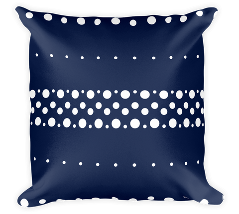 Decorative Throw Pillow / Polka Dot Fun Pattern - Cal31.com