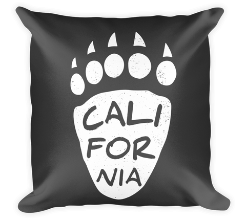 Decorative Throw Pillow / California Bear Paw - Cal31.com