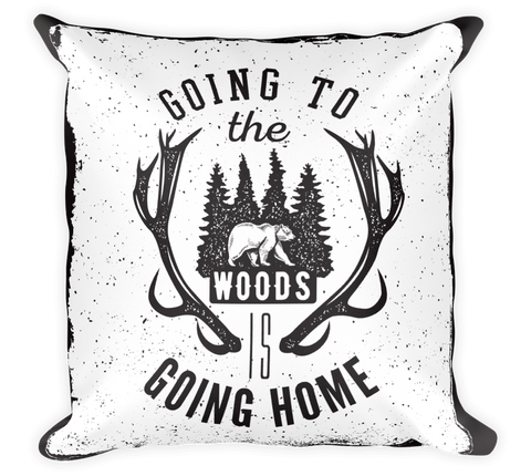 Decorative Throw Pillow / Going wild? Well, I am going home! - Cal31.com