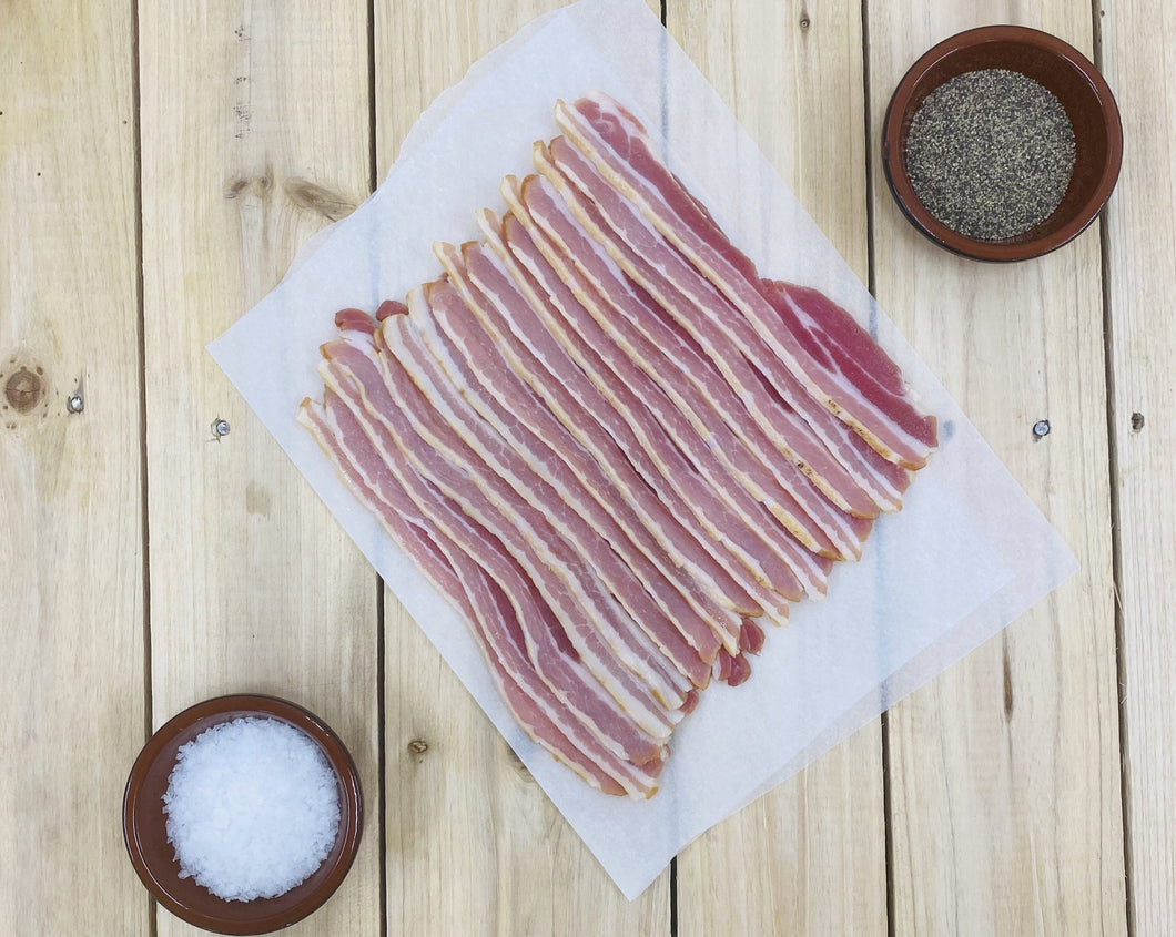 300g Pack of Smoked Streaky Bacon.