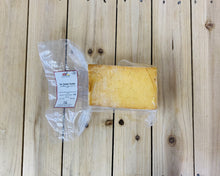 Load image into Gallery viewer, Cleveleys Oak Smoked Mature Cheddar (1kg minimum)